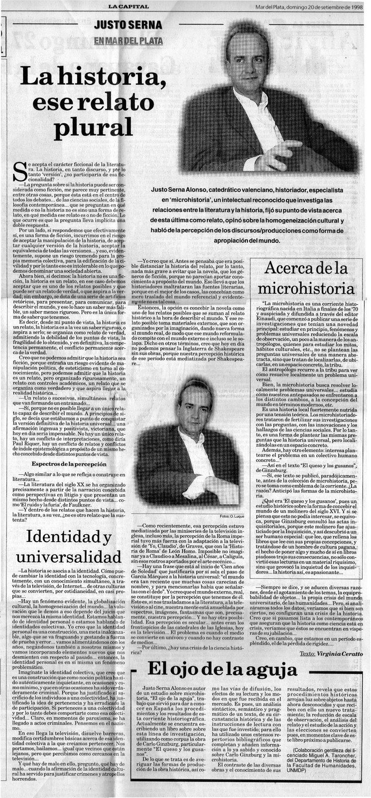 20 de septiembre de 1998: