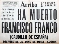 Francisco Franco, otra vez (2/2)