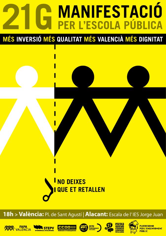 fecha manifestacion partido popular valencia: